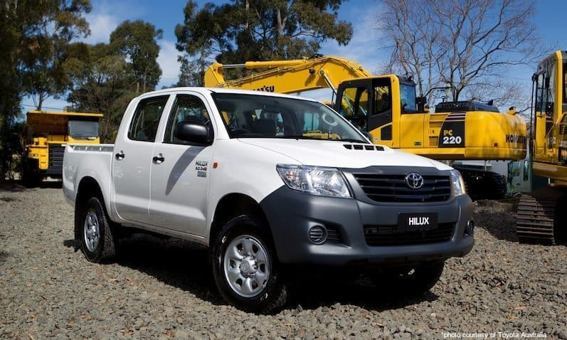 Toyota Hilux 2012 – Article