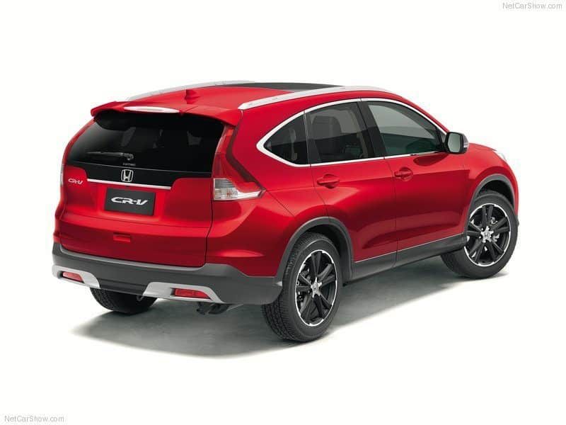 The 2013 Honda CR-V VTi-L. Moving Forward, One Step At A Time.