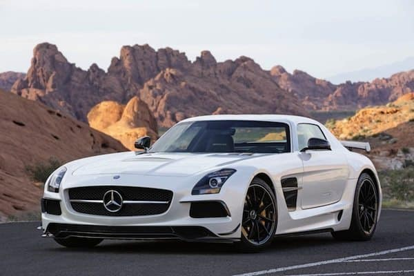 Mercedes Benz SLS AMG Black Series – 2013