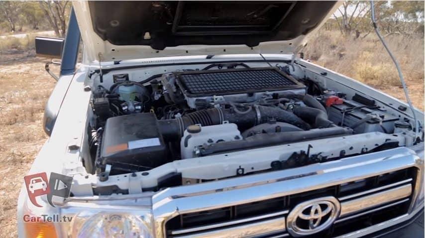 Toyota Landcruiser 70 Engine