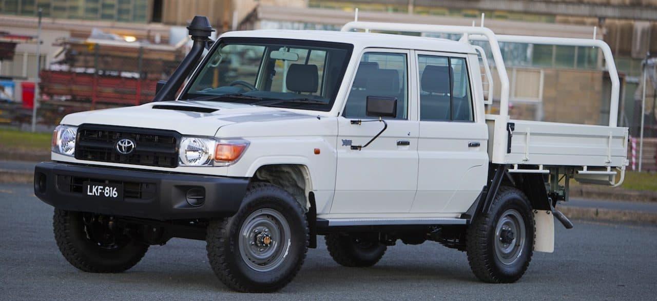 2013 Toyota Landcruiser 70 series – Dual Cab
