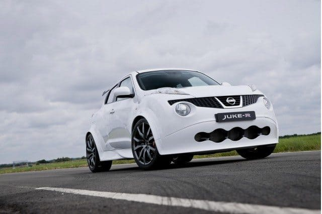 The 2012 Nissan Juke R. The 600,000 Dollar Bullfrog.