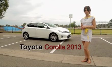 Toyota Corolla Levin ZR – 2013