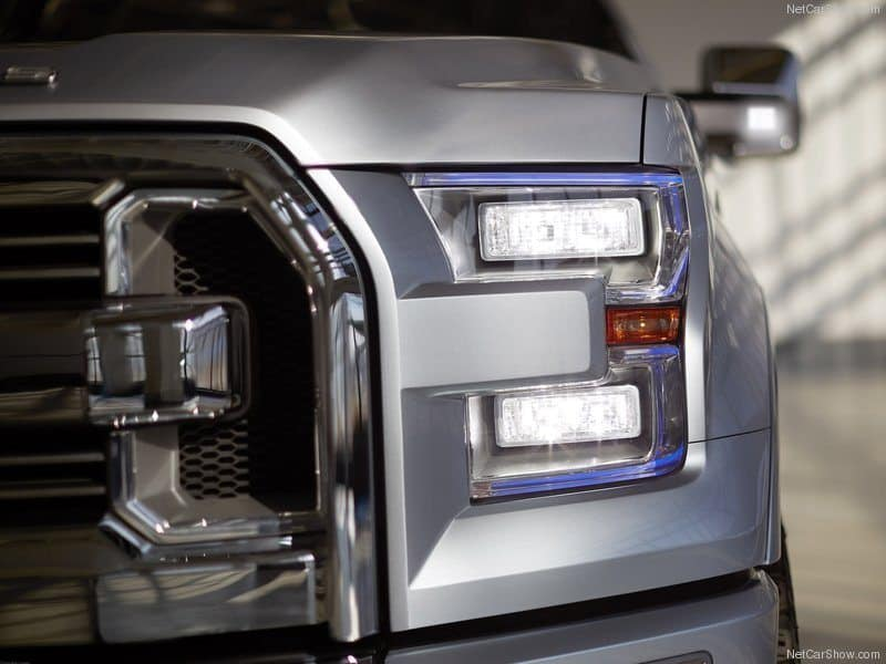 The Detroit Auto Show Review. The Ford ATLAS Concept Truck.