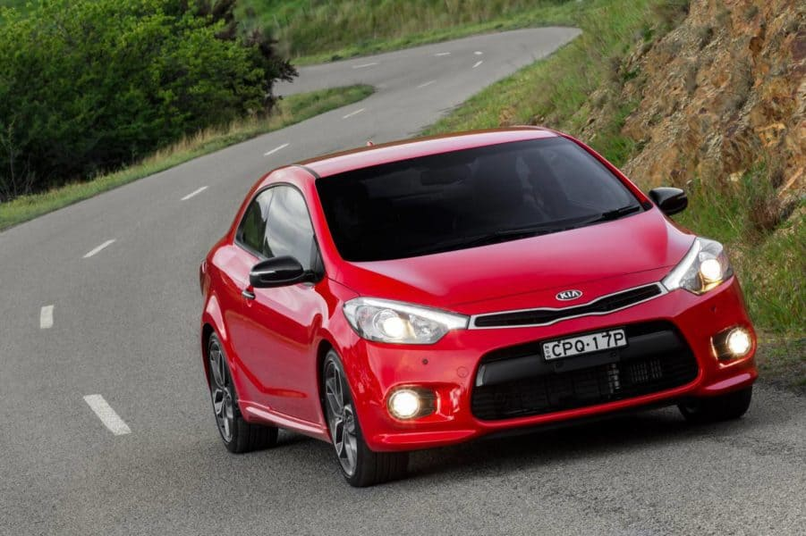 2014 Kia Cerato Koup Gets a New Look and More Boost