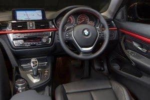 428i driver's seat