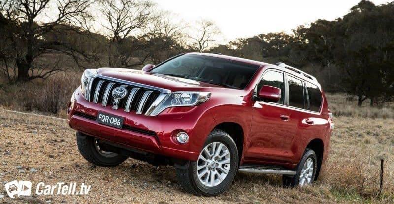 2015 Toyota Prado – Same Body. NEW ENGINE.