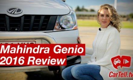 2016 Mahindra Genio Dual Cab 4×2