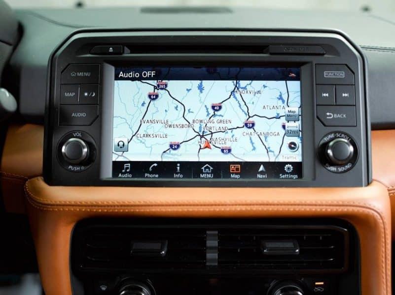 2017 Nissan GTR Navigation