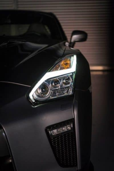 2017 Nissan GTR Headlights