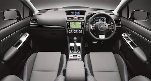 2017 Subaru Levorg GT-S Interior