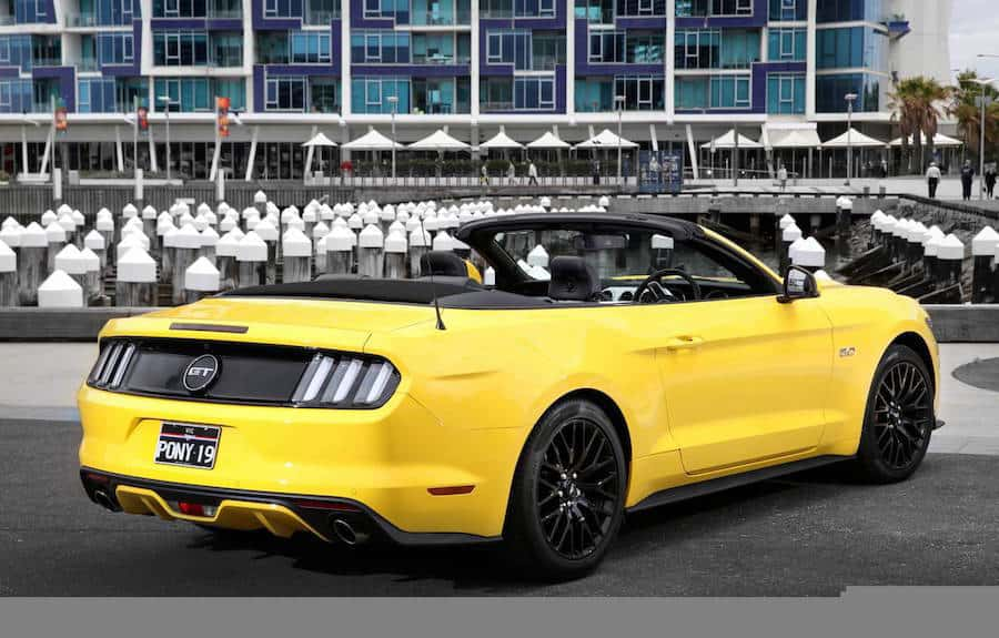 Ford Mustang Convertible Australia