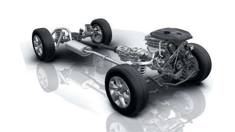 Haval H9 Engine and Suspension
