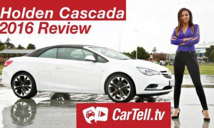 2016 Holden Cascada