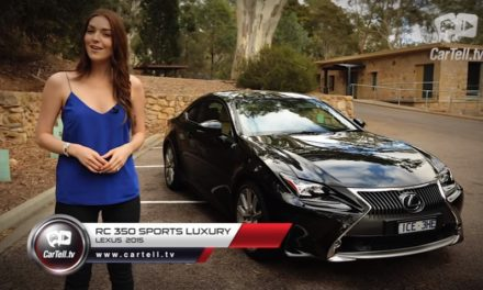 2015 Lexus RC 350 Sports Luxury