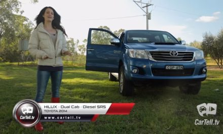 2014 Toyota Hilux SR5 Diesel