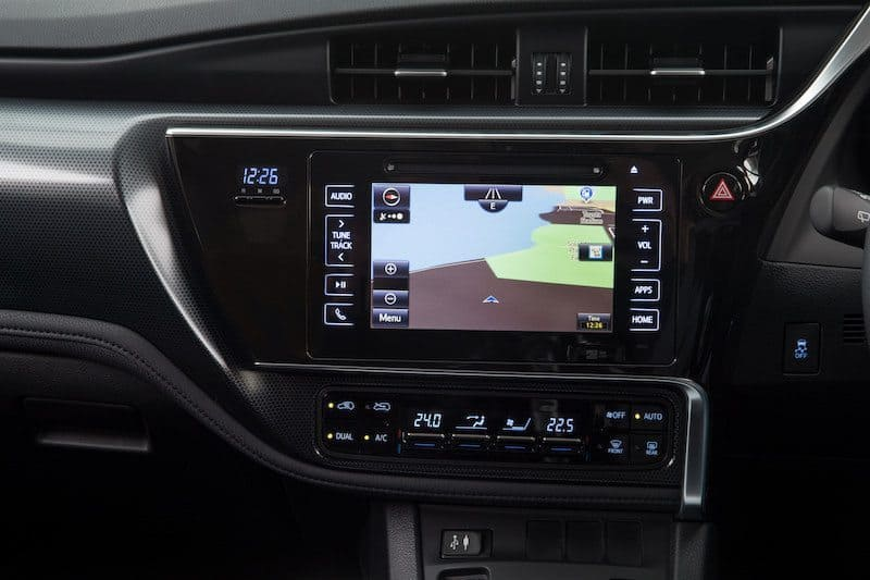 Toyota Corolla Hybrid Interior