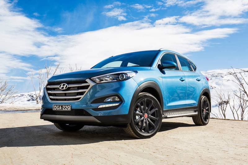 2017 Hyundai Tucson 30 Turbo Limited Edition