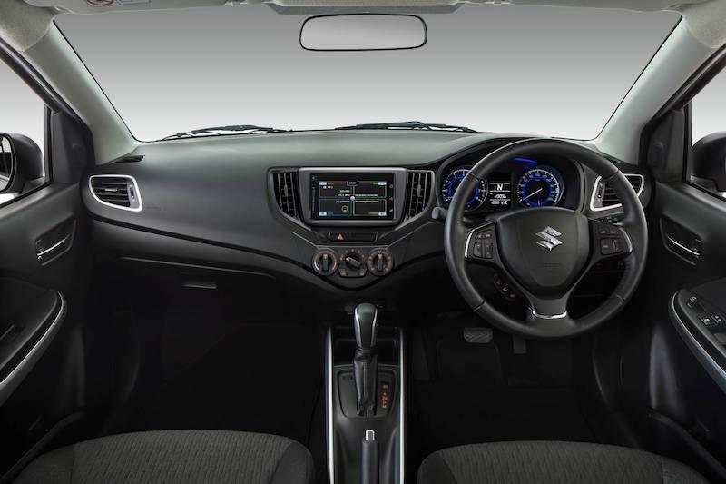 Suzuki Baleno 2017 Interior