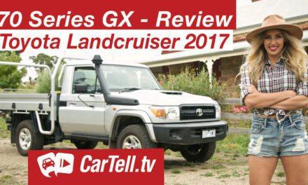 2017 Toyota Landcruiser 70 Series GX