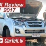 2017 Isuzu D-MAX 4X4 Crew Cab LS-M