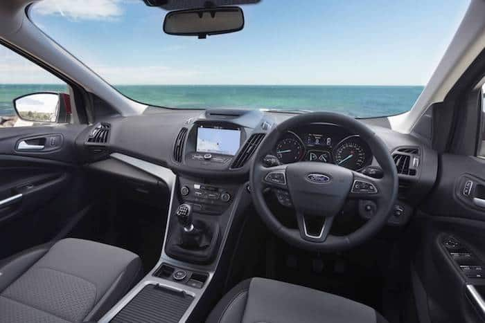 2017 Ford Escape Ambiente Interior