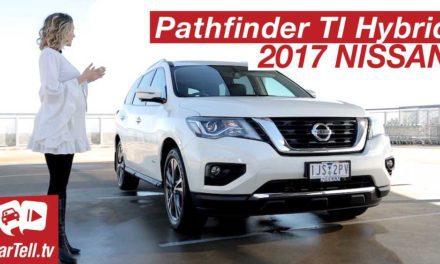 2017 Nissan Pathfinder Hybrid