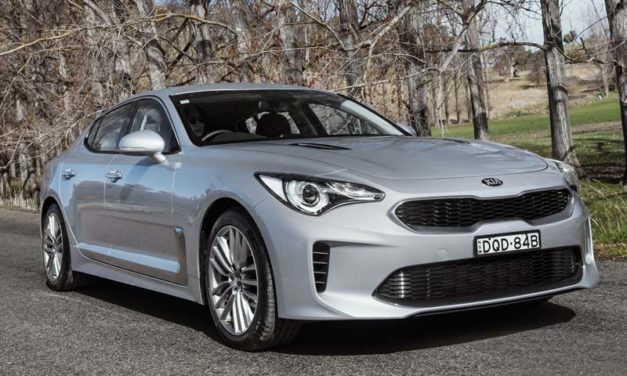 Review: 2018 Kia Stinger