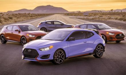 Hyundai reveals the new 2019 Veloster