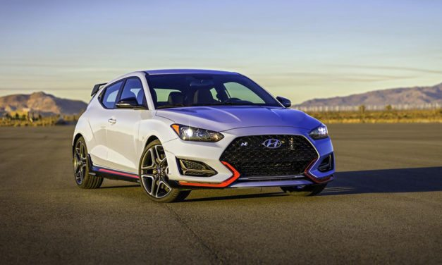 Hyundai reveals the new 2019 Veloster