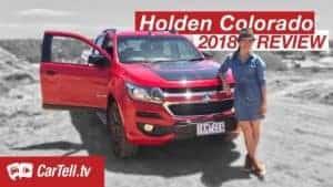 2018 Holden Colorado Z71 reviewed by cartell presenter Jenny