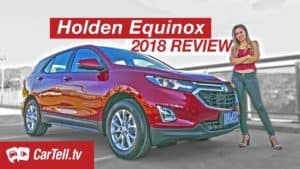 2018 Holden Equinox reviewed by cartell presenter Simone