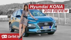 Review of 2018 Hyundai Kona with car presenter Jenny