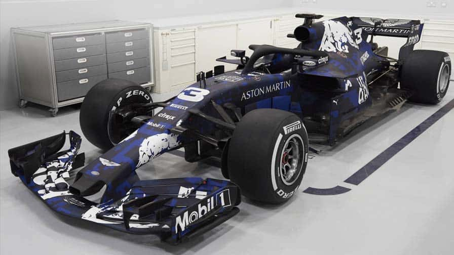 RED BULL unveiled new Racing Car