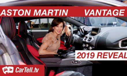 2019 Aston Martin Vantage V8 | Reveal