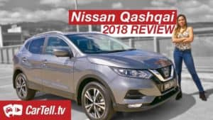 2018 Nissan Qashqai reviewed by cartell.tv presenter Simone