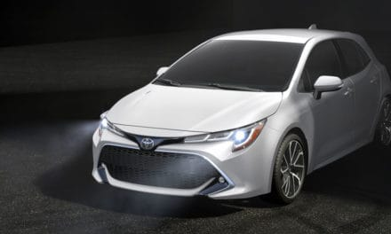 It's the new whizbang Corolla