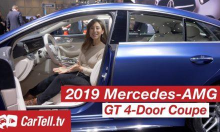 2019 Mercedes-AMG GT 4 Door Coupé | Preview