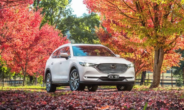 new Mazda CX-8 now on it's way