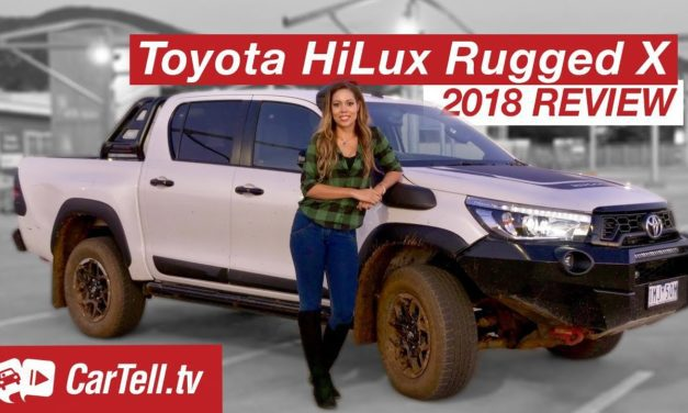Review: 2018 Toyota HiLux Rugged X