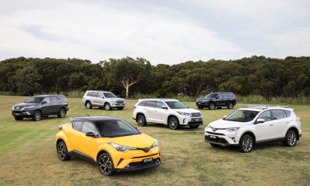 Records topple to SUVs
