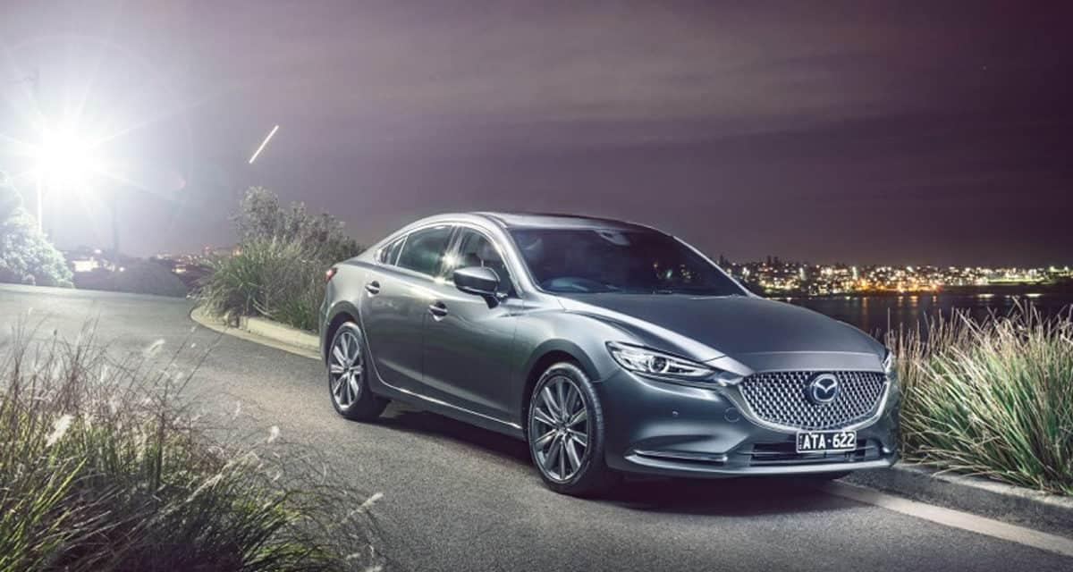 new Mazda 6 released