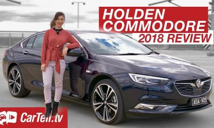 Review: 2018 Holden Commodore Calais V