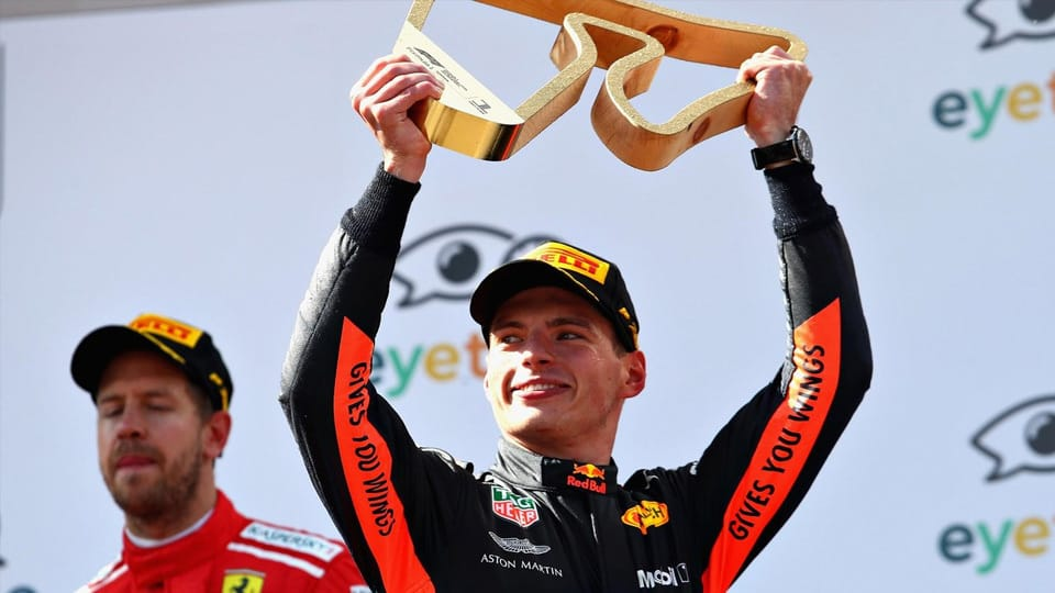 Fairytale finish for Verstappen (not so magic for others)