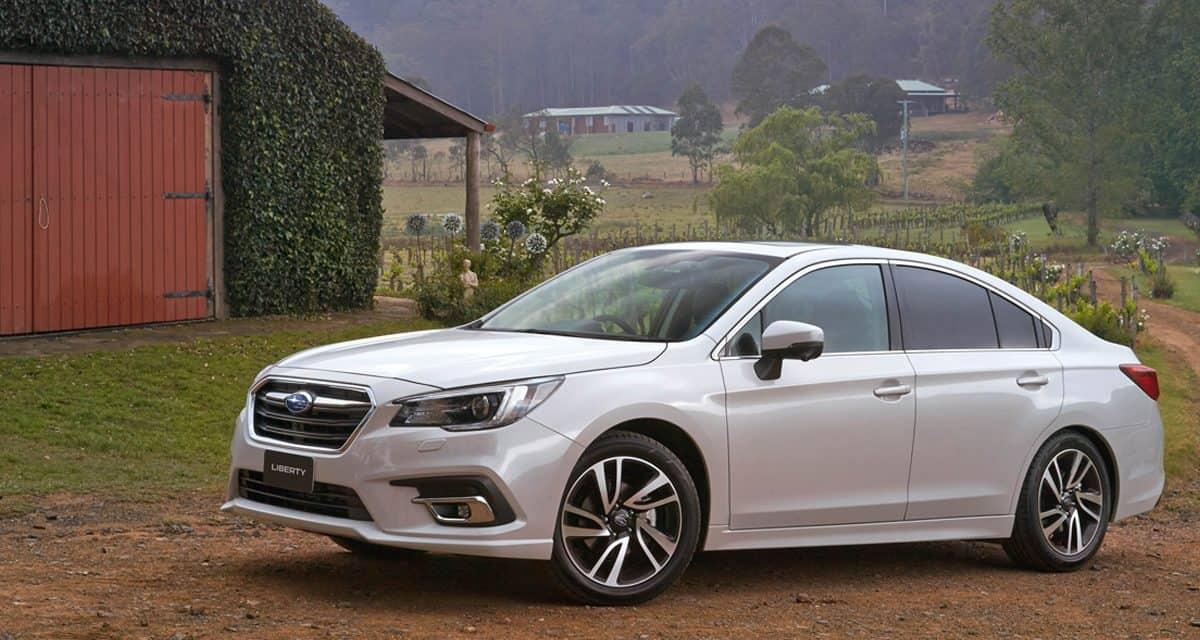 2018 Subaru Liberty 2.5 Premium