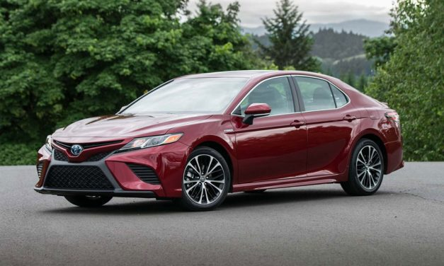 Camry takes a nose dive