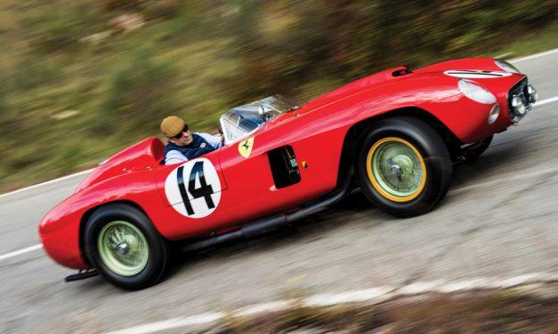Historic Ferrari hits the jackpot