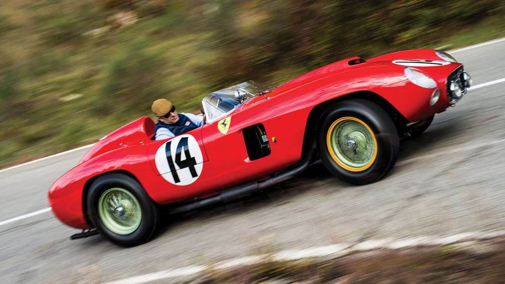 Historic Ferrari hits the jackpot