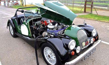 Morgan's last V8s
