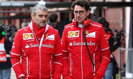 Big change at Ferrari  F1